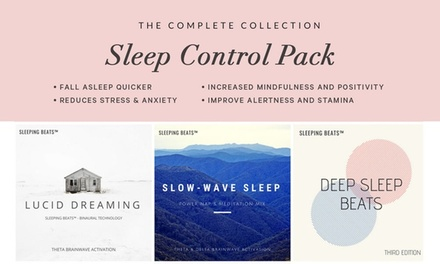 $14 for a Sleep Control MP3 Collection (All 3 Packs) from AstroGifts (Up to $63.88 Value)
