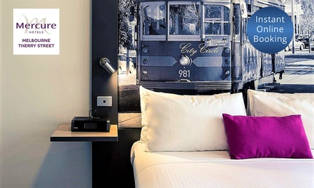 Melbourne, CBD: 4* City Stay or 2 Nights w/ Buffet Breakfast, WiFi & Late CheckOut, Mercure Melbourne Therry St