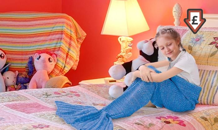 Coperta per bambini a sirena