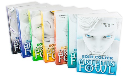 Puffin Books Artemis Fowl Seven-Book Collection Set by Eoin Colfer