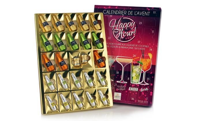 Groupon Calendario.Fino A 3 Calendari Dell Avvento Di Cioccolato Per Adulti Happy Hour
