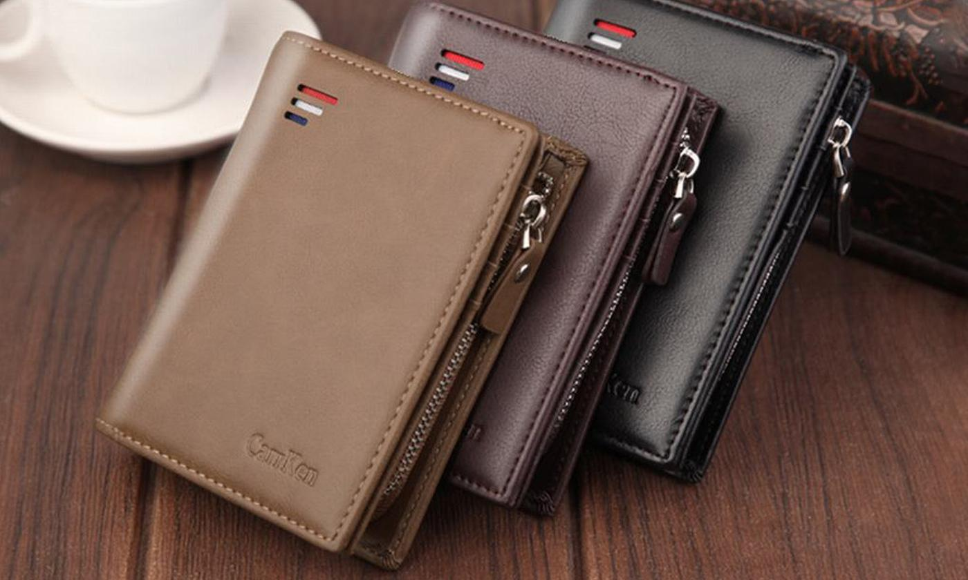 One or Two Unisex RFID Wallets