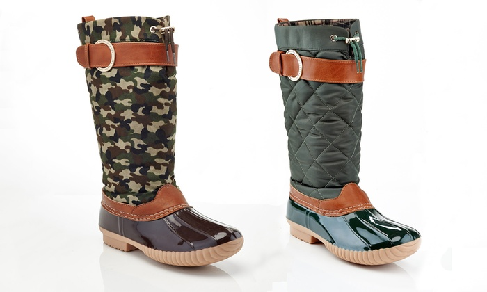 NY VIP Women's Cold Weather Duck Down Boots