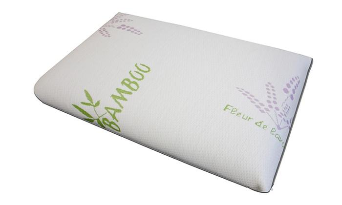 hohe dichte memory foam kissen groupon goods. Black Bedroom Furniture Sets. Home Design Ideas