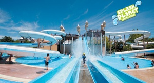 Splash Planet: Water Park Pass for a Child ($12) or an Adult ($18) at Splash Planet (Up to $29 Value)