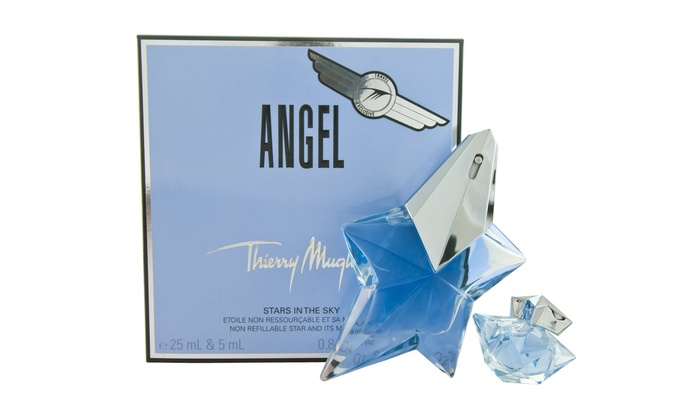 Thierry mugler angel fragrance groupon goods for Thierry mugler miroir des secrets