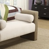 Upholstered Chaise Ottoman