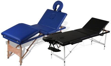 Tables de Massage Pliantes 2 zones, 3 zones ou 4 zones, différents modèles
