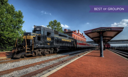 Western Maryland Scenic Railroad Excursion (April 22–October 27)