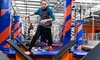Up to 43% Off Indoor-Trampoline Passes at Sky Zone Fishers