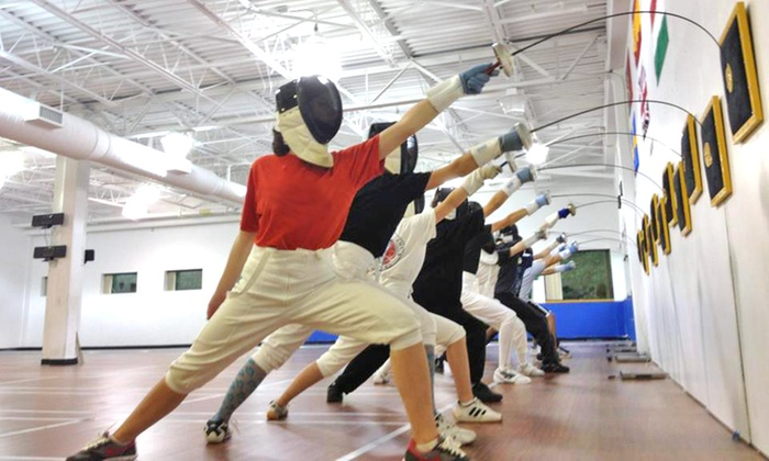 VIVO Fencing Club - Wilmington: Two Beginner Fencing Classes for One or Two Children at Vivo Fencing Club (Up to 60% Off)