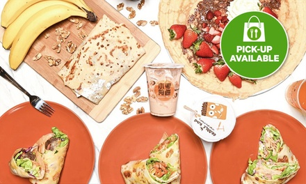 $5.90 for $10 or $11.50 for $20 to Spend on Galette, Crepe, Jianbing and Bubble Tea at Griddle King Zetland