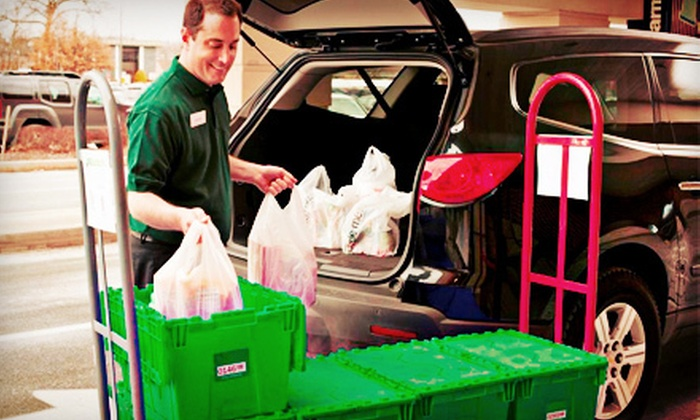 Peapod - Greenville: $20 for $40 Worth of Groceries Available for Pick-up from Peapod