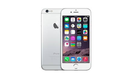 Refurbished Apple iPhone 6 16GB Silver for £399.99 With Free Delivery