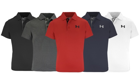 Under Armour Kids' Match Play Polo f3009745-fd0a-4897-91fb-7c94a51ccf70