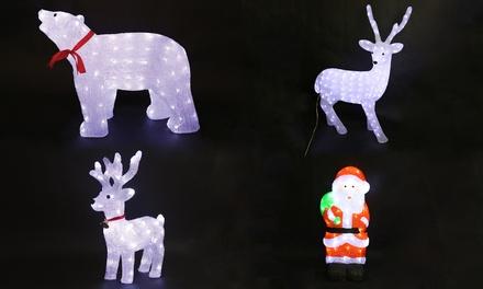 Decorazioni Luminose Natalizie : Decorazioni natalizie luminose da parete o soffitto disponibili in