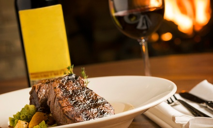 Steak Meal with a Bottle of Wine for Two or Four at Birdtree And Bellfish