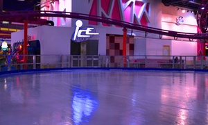 Sparky's: Ice Skating for Two at Sparky's, Two Locations (Up to 44% Off)