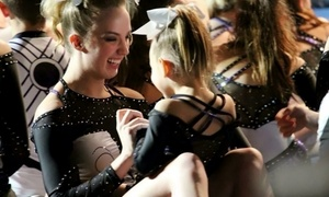 CheerXperience: 1 or 2 Months of Cheerleading or Tumbling Classes, Including Registration Fee at CheerXperience (Up to 57% Off)