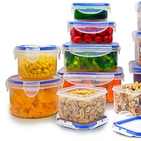 Groupon.com deals on Food Storage Containers Set 24-Piece