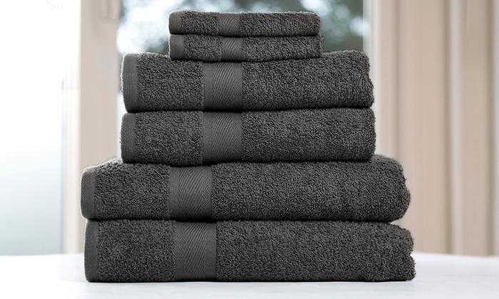 6er set baumwollhandt cher groupon. Black Bedroom Furniture Sets. Home Design Ideas