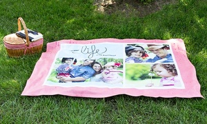 York Photo: Personalized Fleece Blankets from York Photo