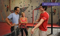 Introduction To Rock-Climbing Class and Two-Week Membership For Two at Vertical Ventures (Up to 50% Off)