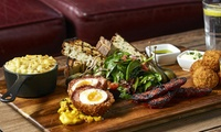 Two-Course Brunch with Free-Flowing Prosecco for Two or Four at Captain Cook (Up to 58% Off)