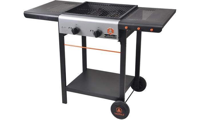 Barbecue gaz Laguiole, modèle de 2 ou 3 brûleurs avec pack
