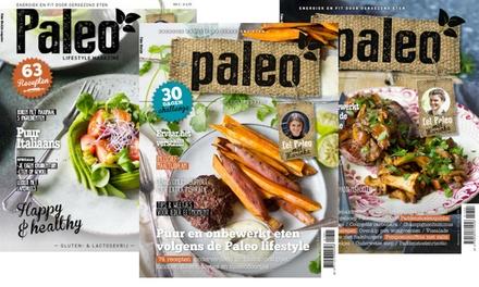 4 nummers Paleo Magazine, je abonnement stopt automatisch