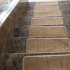 Softy Stair-Tread Solid-Beige Mats (7- or 14-Pack)