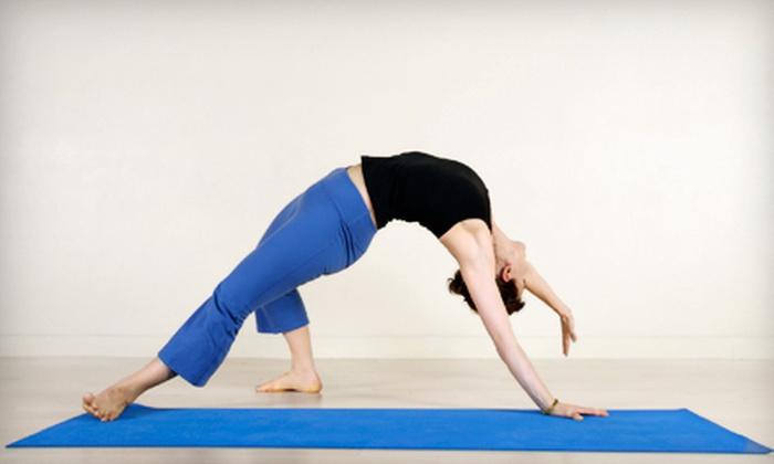 Positive Energy Yoga - Cameron Park: 10 or 20 Classes at Positive Energy Yoga (Up to 78% Off)