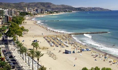 Castellón: estancia para hasta 4 personas con pensión completa, detalle y late check-out en Hotel del Golf Playa 4*
