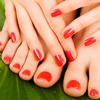 42% Off Mani-Pedi at Aye Salon & Spa
