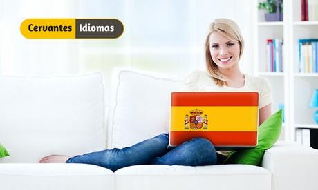 Online-Sprachkurs Spanisch für 6 bis 18 Monate mit Abschlussprüfung bei Cervantes Idiomas