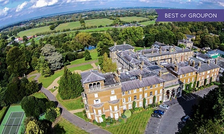 Surrey: 1 or 2 Nights for Two with Breakfast and Option for Two-Course Dinner at 4* Oatlands Park Hotel