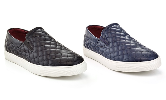 Solo Men's Rockwell Quilted Slip on Sneakers Size 8