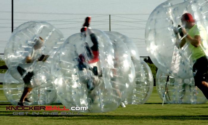 Knockerball Oklahoma Llc - Yukon: $28 for $50 Worth of Event Equipment Rental — KnockerBall Oklahoma LLC