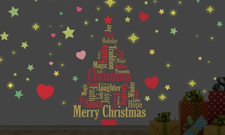 Christmas Wall Sticker from £4.98