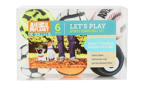 Animal Planet Tennis Ball Set (6-Pack) 130cd234-d233-11e6-9d63-002590604002