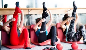 Pure Barre: Five or 10 Pure Barre Classes at Pure Barre(Up to 66% Off)