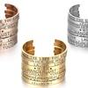 Stainless Steel Inspirational Cuff Bracelet