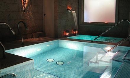 Circuito hidrotermal para dos con opción a envoltura, masaje o reflexoterapia desde 19,90 € en Aguai+