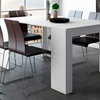jusqu 39 87 console extensible groupon. Black Bedroom Furniture Sets. Home Design Ideas