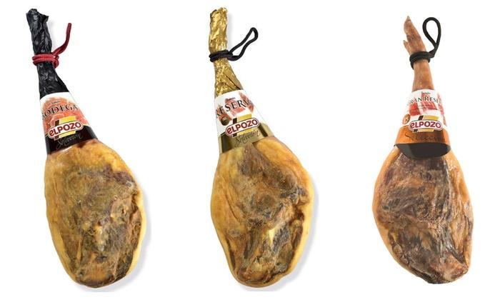 Jambon r/éserve Serrano EL POZO S/élection 7,75 kg