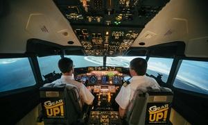 GearUP!: 15 minut lotu na symulatorze samolotu pasażerskiego za 99 zł i więcej opcji w GearUP!