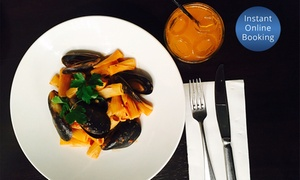 Carmine's Bistro: $12.50 for Choice of Authentic Italian Pasta with Soft Drink at Carmine's Bistro (Up to $28 Value)