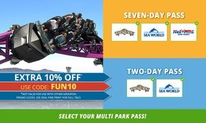 Village Roadshow Theme Parks: Village Roadshow Theme Parks: 2-Day 2 Parks Pass ($119) or 7-Day 3 Parks Pass ($149) (Up to $159Value)