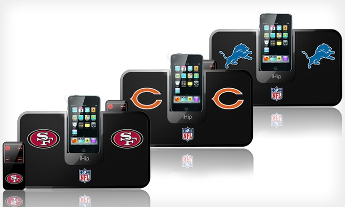iHip NFL Slim Portable Speaker : $19 for an iHip NFL Slim Portable Speaker ($89.95 List Price). 10 Teams Available. Free Shipping and Free Returns.