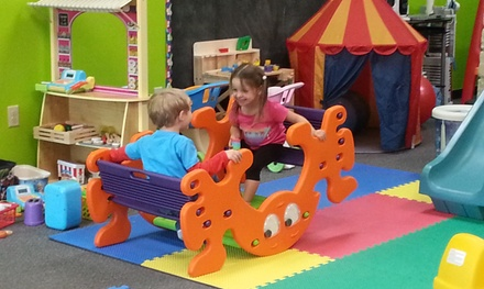 Up to 50% Off Drop-In Child Care at Free Time Kids Playcare